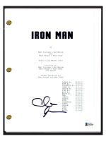 "Clark Gregg Signed ""Iron Man"" Movie Script (Beckett COA) at PristineAuction.com"