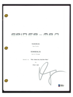 "Willem Dafoe Signed ""Spider-Man"" Movie Script (Beckett COA) at PristineAuction.com"
