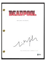 "Tim Miller Signed ""Deadpool"" Movie Script (Beckett COA) at PristineAuction.com"