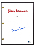 """Cameron Crowe Signed """"Jerry Maguire"""" Movie Script (Beckett COA) at PristineAuction.com"""