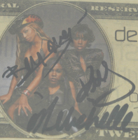"""Beyonce Knowles, Kelly Rowland, & Michelle Williams Signed """"Destiny's Child"""" Replica $20 Dollar Bill (BGS Encapsulated) at PristineAuction.com"""