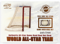 World All-Star Team 2003 Pacific All-Star Game-Used Goal Net Cards #2 at PristineAuction.com