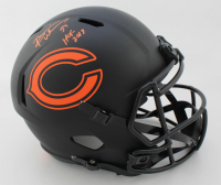"Brian Urlacher Signed Bears Full-Size Eclipse Alternate Speed Helmet Inscribed ""HOF 2018"" (Beckett COA) at PristineAuction.com"