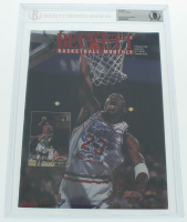 "Michael Jordan Signed 1993 ""Beckett Basketball Monthly"" Magazine (BGS Encapsulated) at PristineAuction.com"