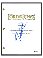 """Andy Serkis Signed """"The Lord of the Rings: The Return of the King"""" Movie Script (Beckett COA) at PristineAuction.com"""