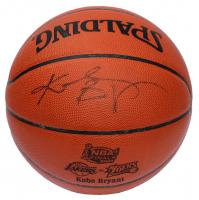 Kobe Bryant Signed 2001 NBA Finals Spalding Basketball (JSA LOA & PSA Hologram) at PristineAuction.com