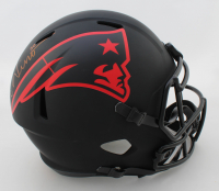 Chase Winovich Signed Patriots Full-Size Eclipse Alternate Speed Helmet (Beckett COA) at PristineAuction.com