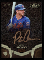 Pete Alonso 2019 Topps Tier One Break Out Autographs Bronze Ink #BAPA at PristineAuction.com