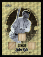 Babe Ruth 2019 Leaf Metal Babe Ruth Collection Triple Bats Gold #TB01 at PristineAuction.com