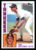 Don Mattingly 1984 Topps #8 RC at PristineAuction.com