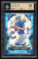 Daniel Jones 2019 Panini Prizm Prizms Blue Ice #302 RC (BGS 10) at PristineAuction.com