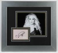 Carrie Underwood Signed 17x19 Custom Framed Cut Display (JSA COA) at PristineAuction.com