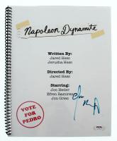 "Efren Ramirez Signed ""Napoleon Dynamite"" Movie Script (PSA Hologram) at PristineAuction.com"