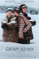 """Grumpy Old Men"" 27x40 Movie Poster at PristineAuction.com"