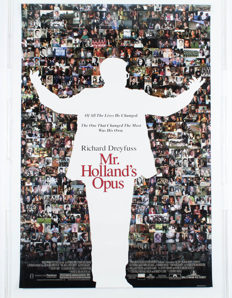"""""""Mr. Holland's Opus"""" 27x40 Movie Poster at PristineAuction.com"""