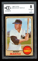 Mickey Mantle 1968 Topps #280 (BCCG 8) at PristineAuction.com