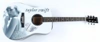 "Taylor Swift Signed ""Folklore"" 40"" Acoustic Guitar (PSA COA) at PristineAuction.com"