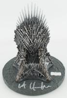 "Kit Harington Signed ""Game of Thrones"" 7"" Iron Throne (Radtke COA) at PristineAuction.com"