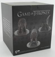 "Kit Harington Signed ""Game of Thrones"" 7"" Iron Throne (Radtke COA) at PristineAuction.com"