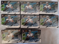 Lot of (8) 2020 Panini Absolute Football Blaster Box with (8) Packs Each at PristineAuction.com