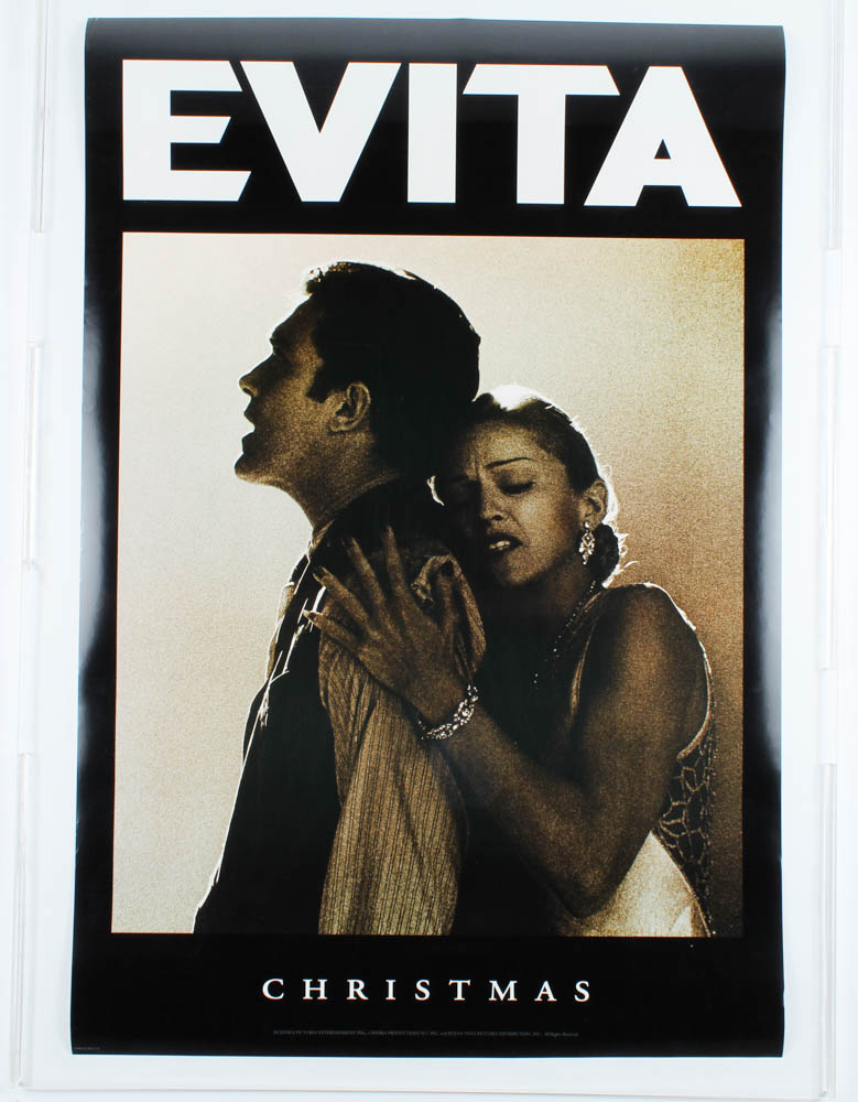 """Evita"" 27x40 Movie Teaser Poster at PristineAuction.com"