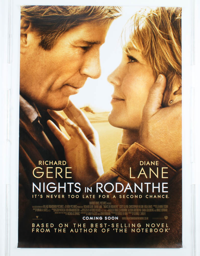 """""""Nights in Rodanthe"""" 27x40 Movie Teaser Poster at PristineAuction.com"""