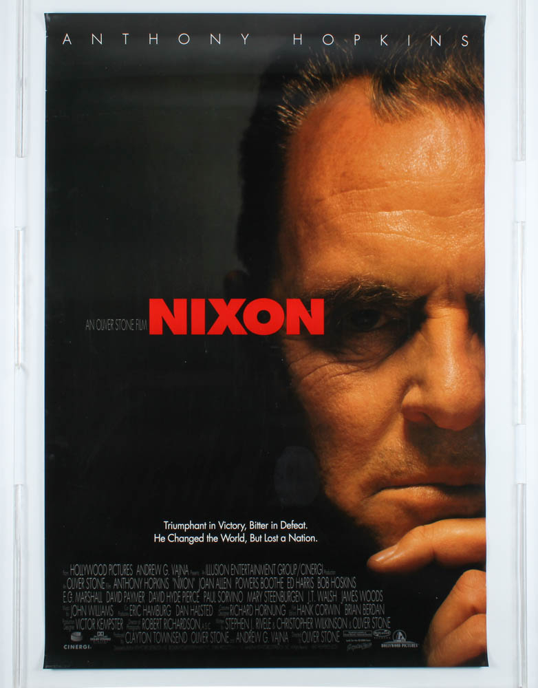 """""""Nixon"""" 27x40 Movie Teaser Poster at PristineAuction.com"""