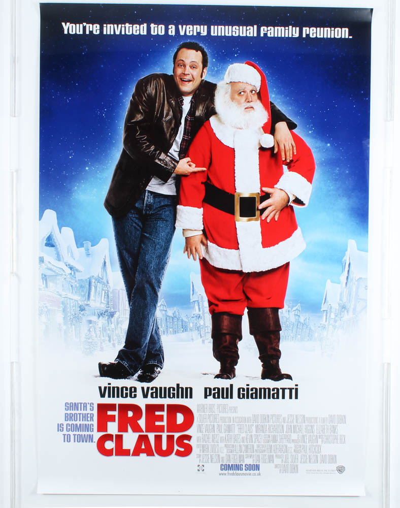 """""""Fred Claus"""" 27x40 Movie Teaser Poster at PristineAuction.com"""