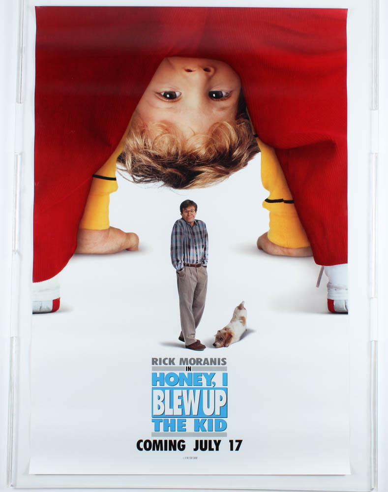 """Honey, I Blew Up the Kid"" 27x40 Movie Teaser Poster at PristineAuction.com"