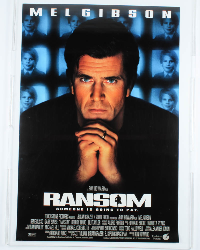 """""""Ransom"""" 27x40 Movie Teaser Poster at PristineAuction.com"""