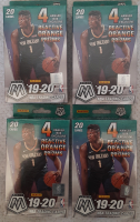 Lot of (4) 2019-20 Panini Mosaic Basketball Hanger Boxes with (20) Cards Each at PristineAuction.com
