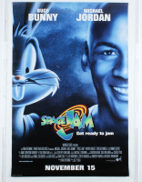 """Space Jam"" 27x40 Teaser Movie Poster at PristineAuction.com"