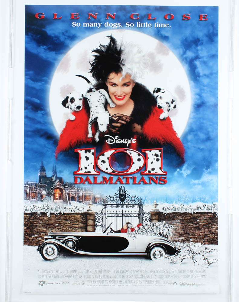 """101 Dalmatians"" 27x40 Teaser Movie Poster at PristineAuction.com"