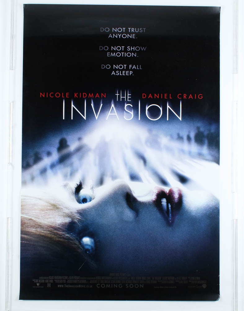 """""""The Invasion"""" 27x40 Teaser Movie Poster at PristineAuction.com"""