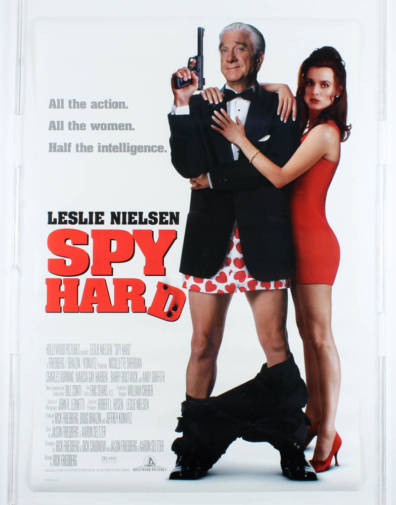 """""""Spy Hard"""" 27x40 Teaser Movie Poster at PristineAuction.com"""