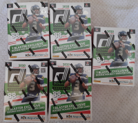 Lot of (5) 2020 Donruss Holiday Winter Football Blaster Boxes with (88) Cards Each at PristineAuction.com