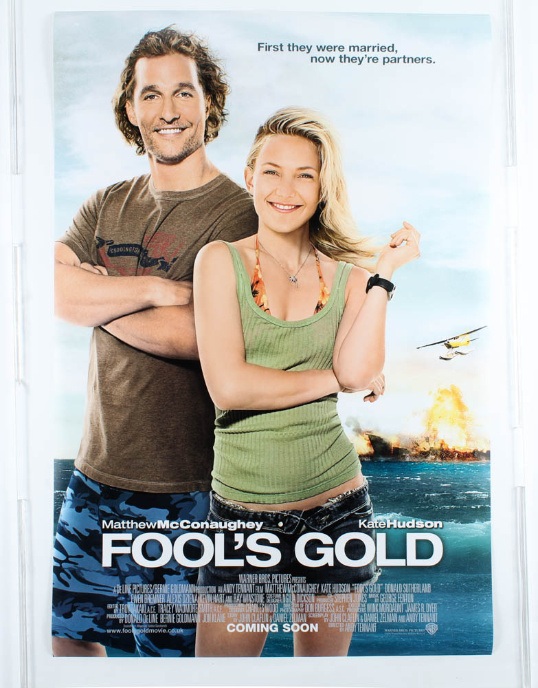 """""""Fool's Gold"""" 27x40 International Teaser Movie Poster at PristineAuction.com"""