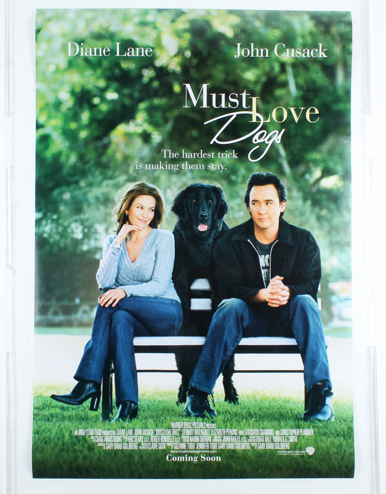 """""""Must Love Dogs"""" 27x40 Movie Poster at PristineAuction.com"""
