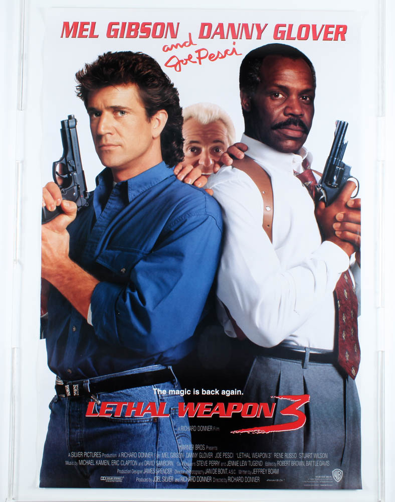 """""""Lethal Weapon 3"""" 27x40 Movie Poster at PristineAuction.com"""