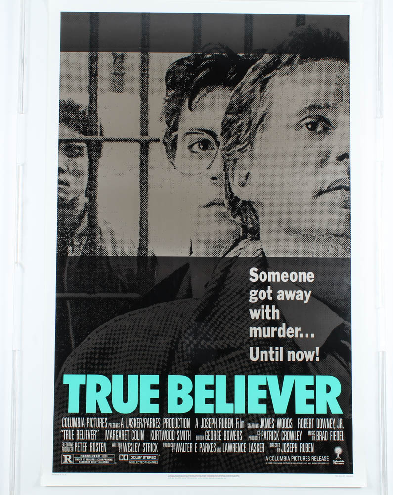 """True Believer"" 27x40 Movie Poster at PristineAuction.com"