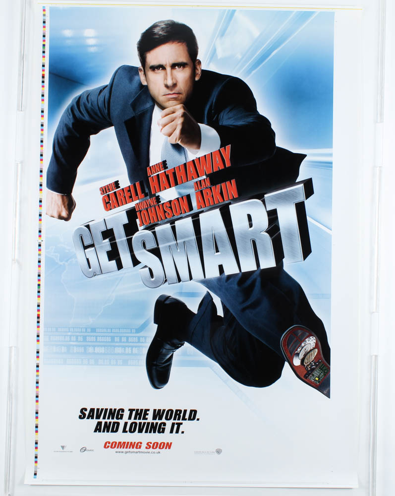"""""""Get Smart"""" 27x40 Movie Poster at PristineAuction.com"""