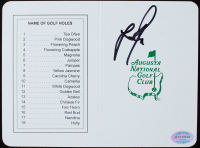 Justin Rose Signed Official Augusta National Score Card (JSA COA) at PristineAuction.com