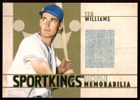 Ted Williams 2007 Sportkings Single Memorabilia Gold #SM27 Jsy at PristineAuction.com