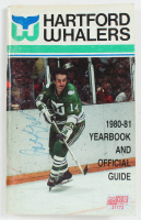 1980-81 Whalers Yearbook Signed by (29) With Howard Baldwin, Mark House, Ray Allison, Morty Howe, Fred Arthur, Dave Keon & Pat Boutette (YSMS COA) at PristineAuction.com