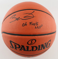 "Dwyane Wade Signed NBA Game Ball Series Basketball Inscribed ""06 Finals MVP"" (Fanatics Hologram) at PristineAuction.com"
