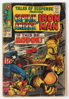 "Vintage 1967 ""Tales of Suspense Featuring Iron Man & Captain America"" Issue #94 Marvel Comic Book at PristineAuction.com"