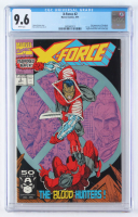 "1991 ""X-Force"" Issue #2 Marvel Comic Book (CGC 9.6) at PristineAuction.com"