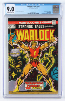 "1965 ""Strange Tales Featuring Warlock"" Issue #178 Marvel Comic Book (CGC 9) at PristineAuction.com"