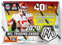 2020 Panini Mosaic Football 10-Pack Mega Box at PristineAuction.com