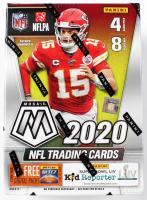 2020 Panini Mosaic Football 8-Pack Blaster Box of (8) Packs at PristineAuction.com